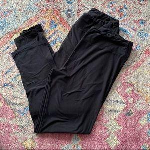 LuLaRoe Set of 2 Pair Black Leggings